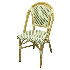 Aluminum Outdoor Chairs Bamboo Style Aluminum Outdoor Chair Ac055gr