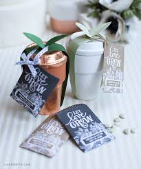 sunflower seed wedding favors seed packet wedding favors lia griffith