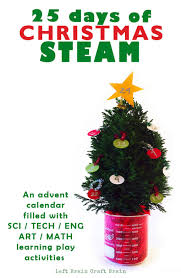christmas steam advent calendar 25 days of learning play left