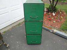 Vintage Metal File Cabinet Steel Antique File Cabinets 1900 1950 Ebay
