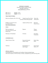 acting resume template for microsoft word actor resume sle luxsos me