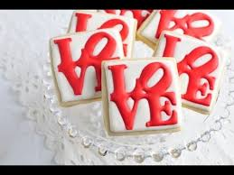 Decorating With Royal Icing How To Decorate Love Park Cookies Royal Icing Transfers Youtube