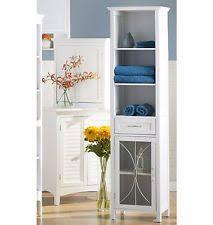 Bathroom Tower Cabinet Linen Closet Ebay