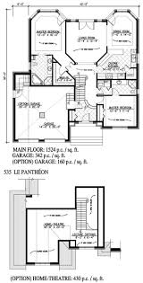 2 bedrm 1524 sq ft country house plan 158 1105 floor plan first story