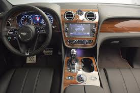 onyx bentley interior 2018 bentley bentayga onyx stock b1287 for sale near westport