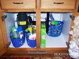 under kitchen sink storage ideas kitchen sink organizer organize under kitchen cabinet ideas