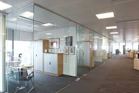 glass office dividers interior design
