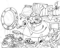 coloriage ustensiles de cuisine 79 dessins de coloriage cuisine a imprimer sur laguerchecom page 3