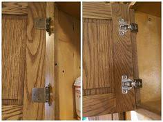 Kitchen Cabinet Hinges How To Change The Hinge Style On Kitchen Cabinets From Exposed