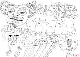 teizer doodle 2 coloring page free printable coloring pages