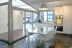 minimalist white nuance of the garage conversion ideas apartment