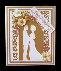 Anniversary Cards And Stationery Ebay Beautiful Birch Wood Laser Cut Personalised 40th Ruby Wedding