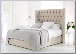 bed frames fabric bed frame queen white tufted bed with crystals