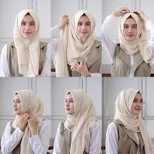 tutorial hijab pashmina tanpa dalaman ninja 25 kreasi tutorial hijab pashmina simple terbaru 2018