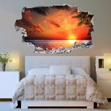 vinyl 3d wall decals decorative wall stickers online beach decals beach wall stickers vinyl 3d cab 105