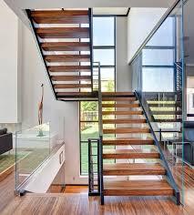 Staircase Ideas Near Entrance Design Magnificent Brilliant Contemporary Residence Exterior
