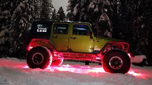 jeep wrangler rock lights sierra led lights revolutionary dual amberwhite led