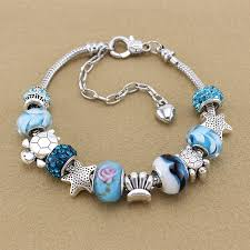 pandora style charm bracelet images Charms beach jpg