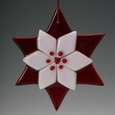 210 best fused glass ornaments images on fused glass