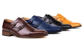light brown monk strap shoes givo vitale men s monk strap dress shoes light brown 10 5 check