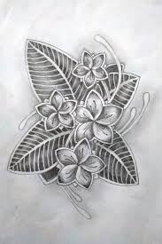 frangipani tattoo by meisarn on deviantart