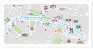 Map Of Tour De France by Map Of Paris Tourist Attractions Sightseeing U0026 Tourist Tour