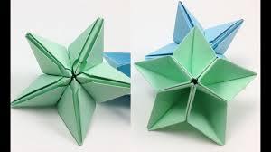 diy origami star ornaments tutorial for christmas easy