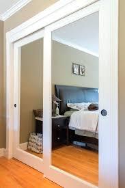Interior Closet Sliding Doors Mirror Closet Doors Mirror Design