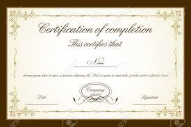 certificate attendance award certificate template