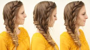 pretty french side braid hairstyle tutorial heatless hairstyles