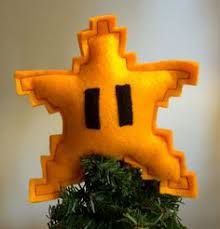 diy mario star tree topper star tree topper tree toppers and