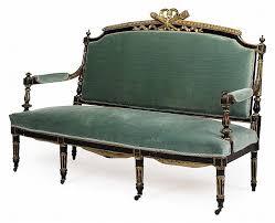 canap napol on iii a napoleon iii carved giltwood and ebonised canape sofa