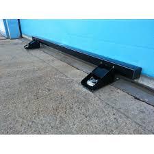 Security Garage Door by Garage Door Lock Heavy Duty Defender Security Bar System Black