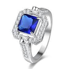 stone finger rings images Kanrome blue zircon stone finger ring aaa cubic jpg