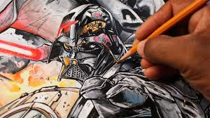 darth vader coloring star wars vader down cover from marvel