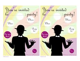 free party invitations printable cimvitation