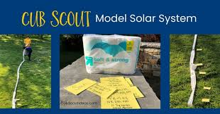 scout light show how to make an awesome model solar system from toilet paper cub