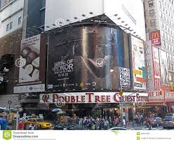 tree times square editorial stock image image 20347984