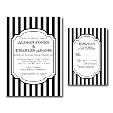 black and white striped wedding invitations black and white striped wedding invitations christmanista