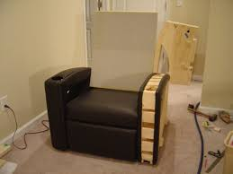5 seat home theater seating studio 5 with a drill homemade furniture facelift instory