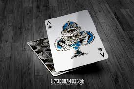 Dream Decks by Buy Magic Tricks Bicycle Dream Playing Cards Silver Edition