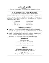 cool free resume templates for word here are good looking resume how to write a resume summary best