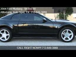 2004 mustang gt for sale 2004 ford mustang gt deluxe 2dr coupe for sale in houston t