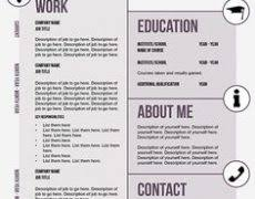 cute resume templates 13 breathtaking 5 creative template 81 free