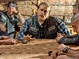 Sons Of Anarchy Meeting Table Sons Of Anarchy Recap Summit Ew