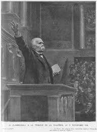 chambre des deputes 8 mars 1918 je fais la guerre discours de clemenceau devant