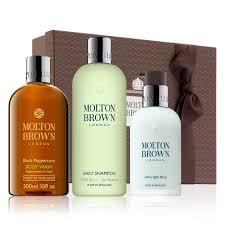 molton brown ultra light bai ji hydrator molton brown black pepper body wash shoo moisturizer gift set