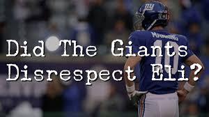 new york giants fan forum disrespectful to eli manning new york giants fan forum