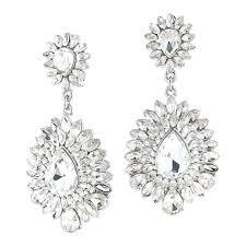 clip on chandelier earrings clip on chandelier earrings bridal earrings clip on chandelier