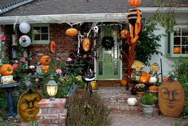 House Decorations Outside Outdoor Decoration Ideas Spooky Front Yard